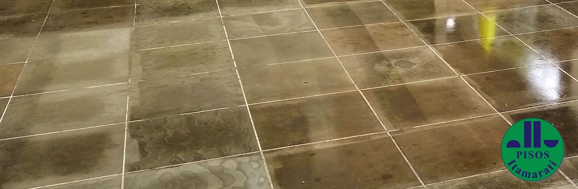 Restauração de Pisos em Ardósia